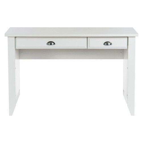 Home Office Laptop Desk Soft White