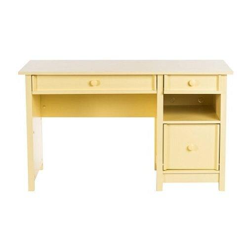 Home Office Computer Desk Sherbet Yellow