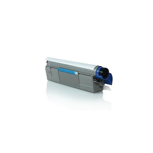 Compatible OKI 44315307 Cyan Laser Toner 6000 Page Yield