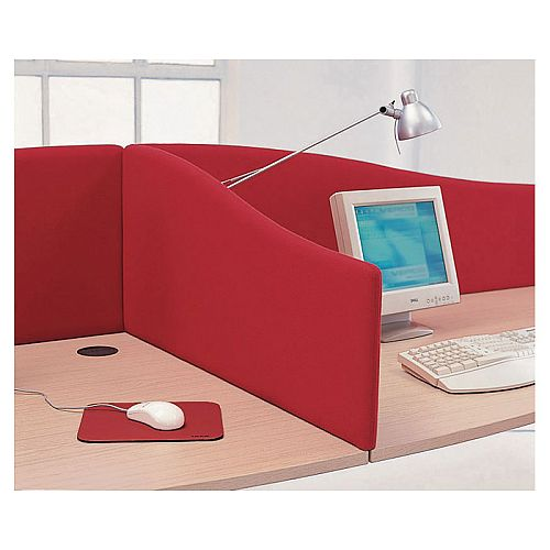 VISUAL Universal Upholstered Desk Screens