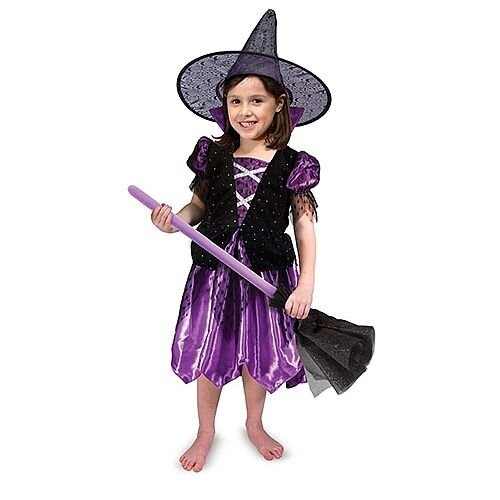 Witch Kids Costume 3-6 Years
