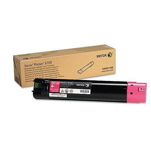 Xerox Phaser 6700 Toner Cartridge High Yield Magenta 106R01508