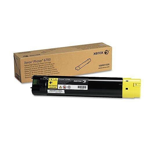 Xerox Phaser 6700 Toner Cartridge High Yield Yellow 106R01509