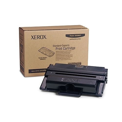 Xerox Phaser 3635MFP Toner Cartridge Standard Capacity Black 108R00793