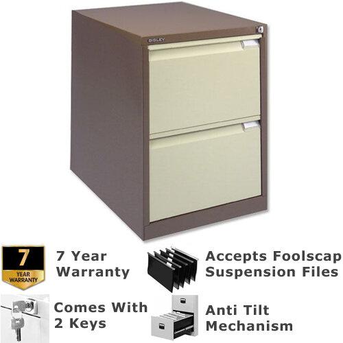 2 Drawer Steel Filing Cabinet ...