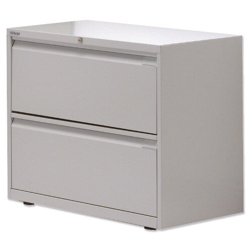 Bisley 2 Drawer Side Filing Cabinet, 2 Drawer Lateral File Cabinet