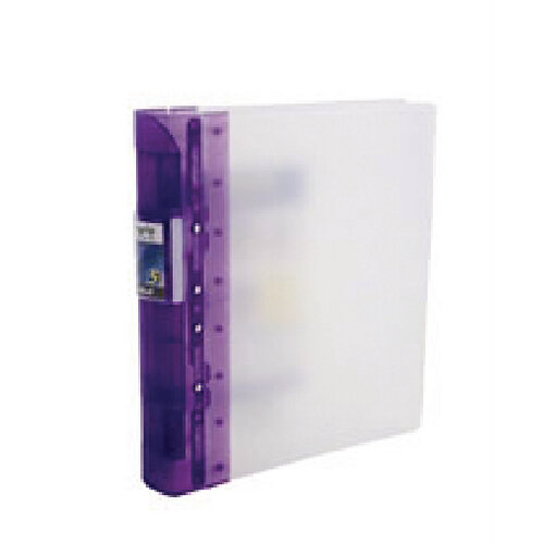 Guildhall GLX Ergogrip Lilac A4 Ring Binder Pack Of 2 4543