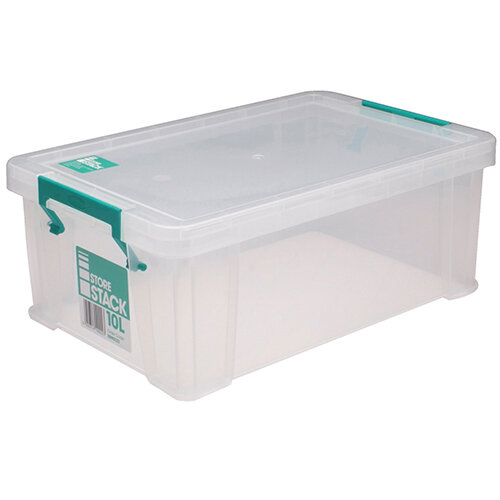 StoreStack 10 Litre Storage Box RB90123 HuntOfficecouk