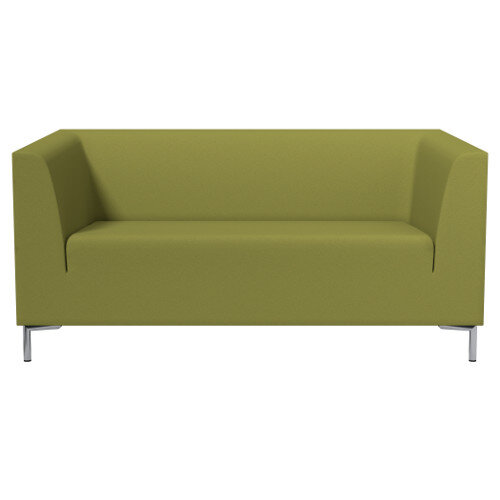 Remarkable Sigma 2 Seater Sofa Olive Green Fabric Home Interior And Landscaping Eliaenasavecom