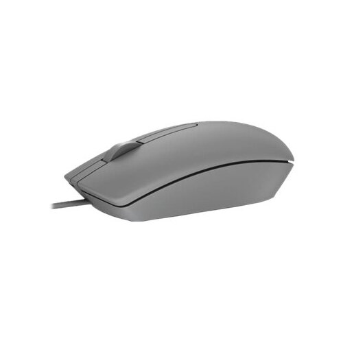 Dell MS116 - Mouse - optical - 2 buttons - wired - USB - grey - for  Inspiron 3459