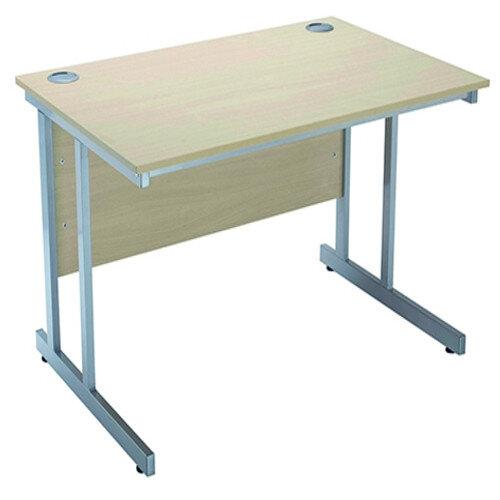 Jemini Intro W1200mm Rectangular Cantilever Office Desk