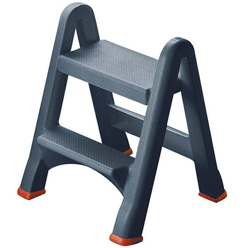 Fantastic Folding Plastic Step Stool Black 333650 Ibusinesslaw Wood Chair Design Ideas Ibusinesslaworg