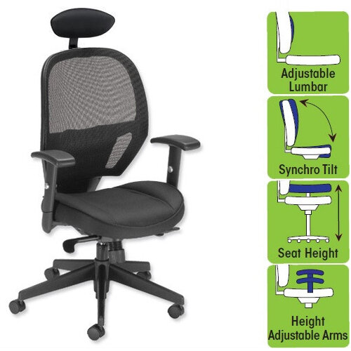 Influx Amaze Mesh Task Chair With Headrest Black W520 x D520 x H470 on office chair mesh seat and back, office chair seat depth, office chair with flip up arms, office chair upholstered, office chair with neck rest, office chair with movable arms, office chairs with mesh, office chair headrest add-on, office chair with console, office guest chairs for less, office chair headrest pillow, office chairs product, office chair with hand brake, office chair with adjustable seat, attachable chair headrest, office chair sled base, office chair adjustable headrest, office chair with leg rest, office chair headrest attachment, office chair air,
