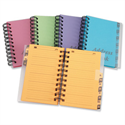 Telephone Address Book Wirebound 13 Part A-Z Bright Assorted Concord