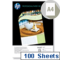 HP A4 White Professional Matte Inkjet Printer Paper 180gsm (Pack of 100)