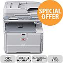 OKI MC342DN 4 in 1 Colour Laser Printer Duplex Network