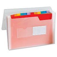 A4 Expanding File Coloured Plastic Europa File - 13 Pockets, (Elasticized) Expands To Suit Your Needs, Easily Retrieve Files With Divider Tabs & Made From Strong, Long Lasting Plastic To Protect Your Files. Ideal For Schools, Offices, Colleges & More.