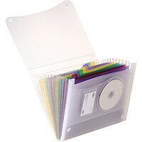 Elba Expanding File Coloured Polypropylene 13 Pockets Velcro Fastening A4 Ref 100208980