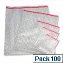 Jiffy Branded Bubble Wrap Film Bag 380 x 425mm (100 Pack)