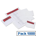 Tenzalope Packing List Envelopes A7 Plain Polythene A71 Pack 1000