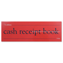 Cash Receipt Book 80 Leaf 63x165mm 7556