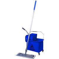 Robert Scott and Sons Microspeedy Flat Mop Starter Kit Blue