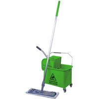 Robert Scott and Sons Microspeedy Flat Mop Starter Kit Green