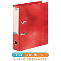 Elba Classy Lever Arch File A4 70mm Red Ref 400021004 [3 for 2] Jan-Dec 2019