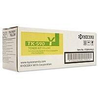 Kyocera TK-590Y Laser Toner Cartridge Page Life 5000pp Yellow Ref 1T02KVANL0