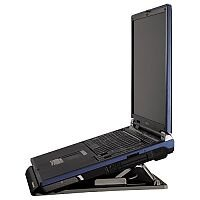 """Hama Notebook Laptop 15.4"""" Stand Portable Variable Angle Black 051062"""