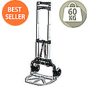 Lightweight Folding Trolley 60kg Capacity Ref LWFT/60/P