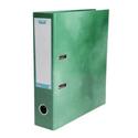 Elba Lever Arch File Laminated Gloss Finish 70mm Capacity A4 Green