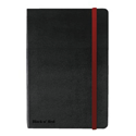 A6 Notebook Ref 400033672 Black by Black n Red  [Pack 1]