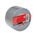 5 Star Cloth Tape Roll 75mmx50m Silver
