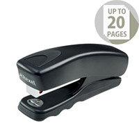 Rexel Gemini Half Strip Stapler Black Ref 2103820