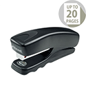 Rexel Gemini Half Strip Stapler Black Ref 2103820