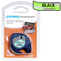 Dymo LetraTag Tape Metallic 12mmx4m Metallic Green Ref S0721740