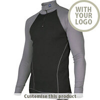 3103 Undershirt With Polo Neck 110178 - Customise with your brand, logo or promo text