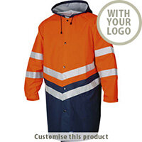 6403 Rain Jacket Hv 110262 - Customise with your brand, logo or promo text