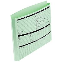 Personnel Wallets Extra Capacity Expandable Gusset Green Ref PWG02 Pack 50