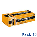 Duracell Industrial Batteries 9V Pack 10