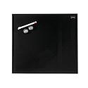 Nobo Diamond Drywipe Board Magnetic 450x450mm Black Ref 1903951