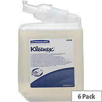 Kimcare Luxury Foam Anti-Bacterial Hand Cleanser 1 Litre Ref 6341 [Pack 6]