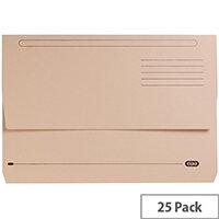 Elba StrongLine Document Wallet Buff Pack of 25 Ref 400053600