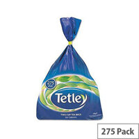 Tetley Tea Bags Two Cup Pack 275 Ref 848387