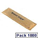 Brown Sugar Sticks Sachets Pack 1000