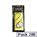 Salad Cream Sachets 9g Pack 200