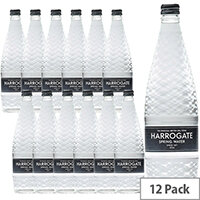 Harrogate Still Water Glass Bottled 750ml Ref G750121S Pack 12