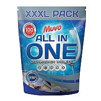 Muvo Original Dishwasher Tablets 1 x Pack of 100 Tablets