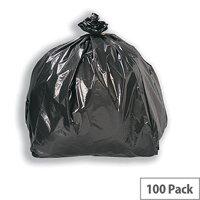 Refuse Sacks Heavy Duty W450xD720xH970cm Black [Pack 200]